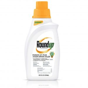 Roundup Concentrate Poison Ivy Plus Tough Brush Killer, 32 oz.