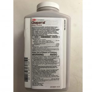 Chapparal Herbicide 1.25#- Aminopyralid Range and Pasture Weed Control