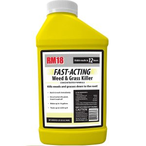 RM18 Fast-Acting Weed & Grass Killer Herbicide, 32-ounce