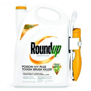 Roundup Ready-to-Use Poison Ivy Plus Tough Brush Killer with Comfort Wand, 1.33 gal.
