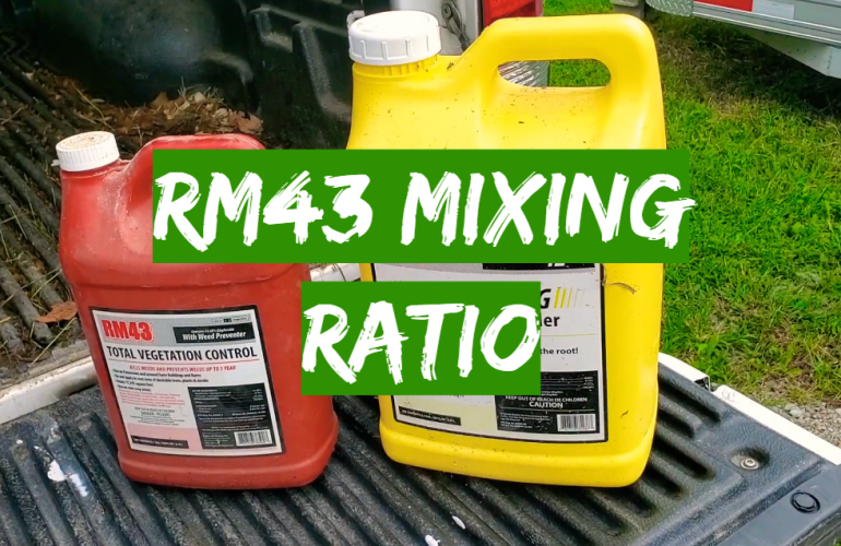 RM43 Mixing Ratio Guide